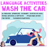 Language in Life Skills Washing the Car for Speech Language Therapy
