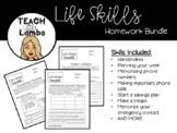 Life Skills Weekly Homework
