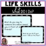 Life Skills What Do I Do Problem Solving BOOM Cards distan