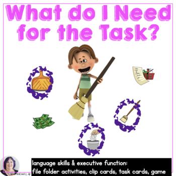 Life Skills: What Do I Need Item Associations  Autism Speech Language