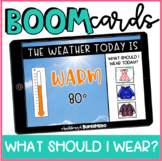 Life Skills: What Should I Wear Today? BOOM CARDS {distance learning}