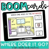 Life Skills: Where Does It Go? BOOM CARDS {distance learning}
