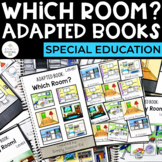 Life Skills: Which Room? Adapted Books