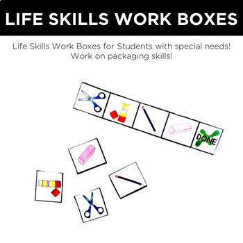 Life Skills Work Boxes