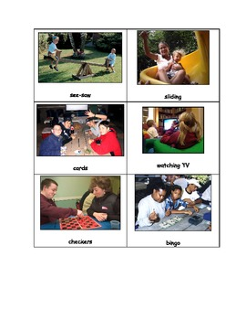 Special Education: Work vs. Play - Sort