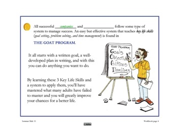 Life Skills PowerPoint (Goal Setting, Problem Solving & Time Management)