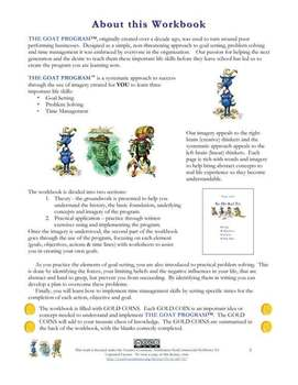 Life Skills Workbook (Goal Setting, Problem Solving & Time Management)
