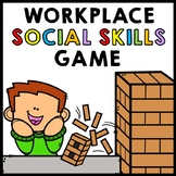 Life Skills - Workplace Social Skills - Jenga Game - Vocational - Transition