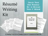 Life Skills - Writing Your Own Resume Kit
