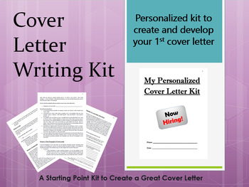 Life Skills Writing A Cover Letter Kit By Pedro Gonzalez Tpt
