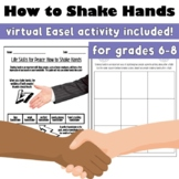 Life Skills for Peace: How to Shake Hands (Back to School)