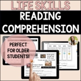 Life Skills Reading Comprehension in Activities of Daily L