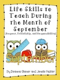 Life Skills to Teach During the Month of September