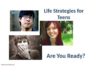Life Strategies for Teens PowerPoint & Activity