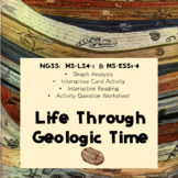 Life Through Geologic Time:  MS-LS4-1  MS-ESS1-4