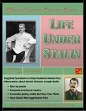 Life Under Stalin Question Set