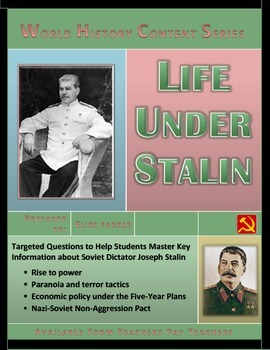 Life Under Stalin Question Set