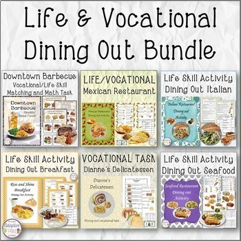 Life & Vocational Real Image Dining Out Bundle