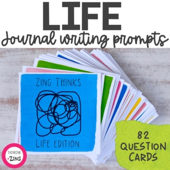 Life Writing Prompts and Conversation Starters