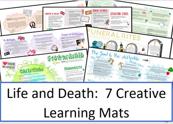 Life and Death: 7 Learning Mats / Revision Sheets