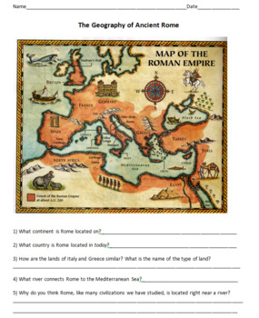 Life and Politics in Ancient Rome - Mini-Unit of 8 Lessons