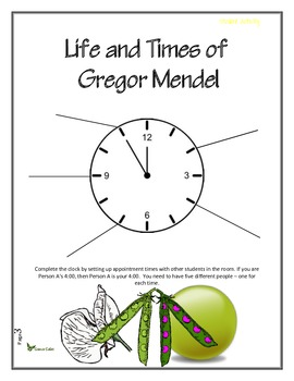 Life and Times of Gregor Mendel