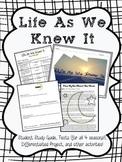 Life as We Knew It NOVEL UNIT