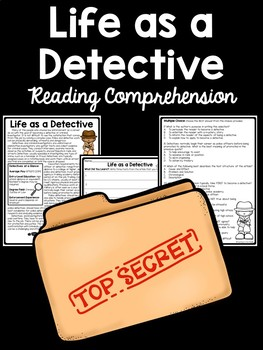 Life as a Detective Informational Text, Mysteries, Communi