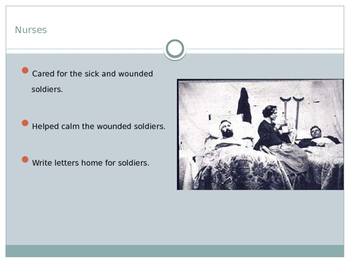 Life at Home During the Civil War & New Technology PowerPoint