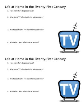 Life at Home in the 21st Century Mini Quiz