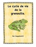 Life cycle: le cycle de vie de la grenouille.