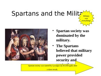 Ancient Greece Section 3 - Life in Ancient Athens and Sparta