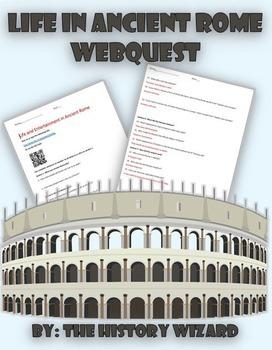 Life in Ancient Rome Webquest