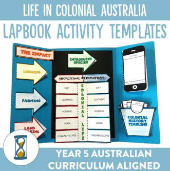 Life in Colonial Australia Lapbook Activities and Unit Plan