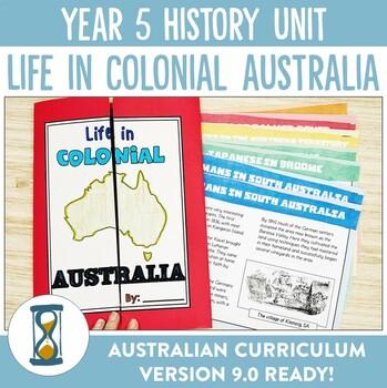 Year 5 HASS Australian Curriculum Unit Bundle - Life in Colonial Australia