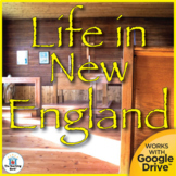 Life in New England Colonies US History Unit