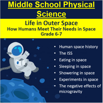 Life in Outer Space - A Grade 6-7 Middle School Lesson