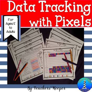 Life in Pixels: Data Collection using Pixel Coloring