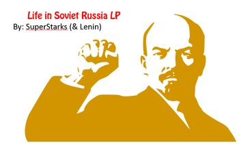 Life in Soviet Union 90 minute LP for High School