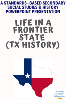 Life in a Frontier State Powerpoint Lesson (TX History)