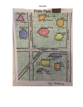 Life in a Geometrical Town - 3rd grade project