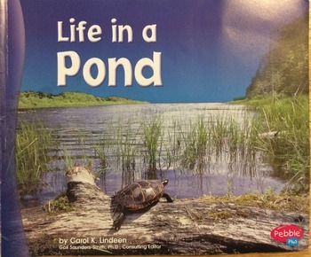 Life in a Pond Book by Carol K. Lindeen