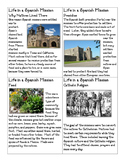 Life in a Spanish Mission cards