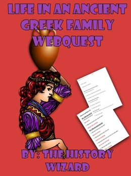 Life in an Ancient Greek Family Webquest