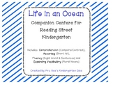 Life in an Ocean Reading Street Companion Centers