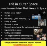 Life in outer space - how humans meet their needs - Space Lesson