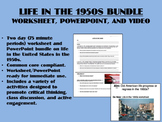 Life in the 1950s - US History/APUSH Common Core