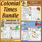 Life in the Colonies, Jamestown and Powhatan Tribe, School