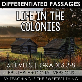 Life in the Colonies: Passages
