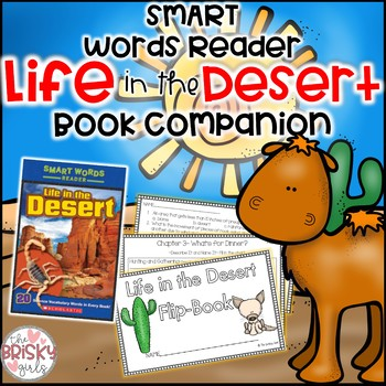Life in the Desert Smart Words Reader Flipbook